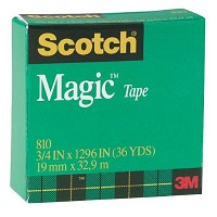 Scotch Magic 3/4 inch x 1296 inch Tape