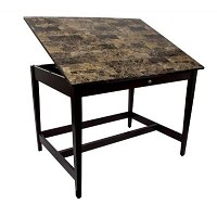 Alvin Vanguard Drawing Room Table 28 inch x 42 inch Marble Top
