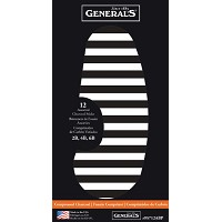 General's Compressed Charcoal Stick Set