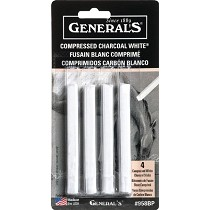 General's White Compressed Charcoal Sticks