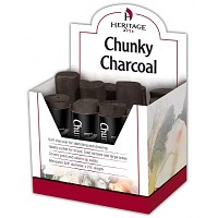 Heritage Arts Chunky Charcoal Display