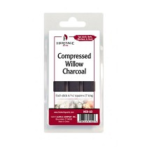 Heritage Arts Compressed Charcoal Sticks 3-Piece Clamshell (Assorted)