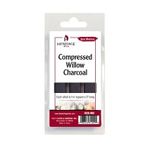 Heritage Arts Compressed Charcoal Sticks 3-Piece Clamshell (Medium)