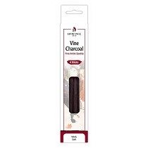 Heritage Arts Vine Charcoal Soft 4-Pack Set
