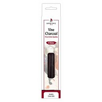 Heritage Arts Vine Charcoal Extra Soft 4-Pack Set