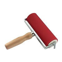 Heritage Arts Professional Hard Rubber Brayer 2 x 6 inch