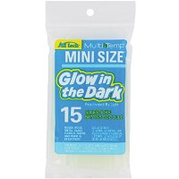 Ad Tech Glow In The Dark Mini Glue Sticks