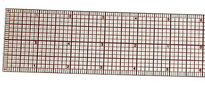 Westcott C-Thru 12 inch Beveled Graph Ruler