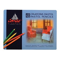 Conte Pastel Pencil 48-Color Set