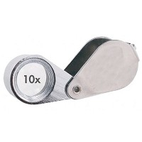 Alvin 10x Doublet Loupe with Case