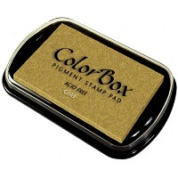 ColorBox Full Size Ink Pad Gold