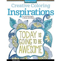 Design Originals Inspirations Creative Coloring Books for Adults