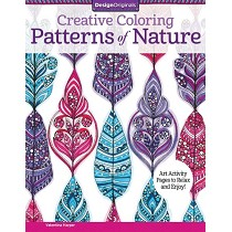 Design Originals Patterns of Nature Creative Coloring Books for Adults