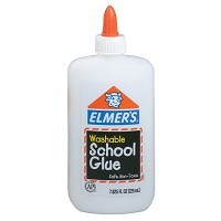 Elmer's Washable Liquid School Glue 7 5/8oz