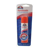 Elmer's Repositionable All-Purpose Glue Stick .88oz