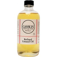 Gamblin Refined Linseed Oil 8oz