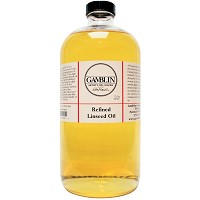 Gamblin Refined Linseed Oil 32oz