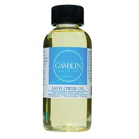 Gamblin Safflower Oil Medium 4.2oz/120ml
