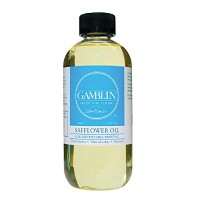 Gamblin Safflower Oil Medium 8.5oz/250ml