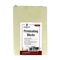 Heritage Arts Traditional Beige Printmaking Blocks 6-Pack