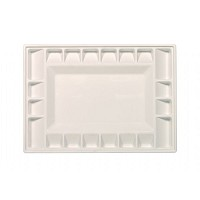 Heritage Arts 21-Well Heavy-Duty Plastic Classic Platform Palette