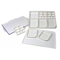 Heritage Arts 33-Well Heavy-Duty Plastic Platform Palette