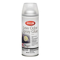 Krylon Low Odor Spray Glue