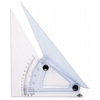 Alvin 12 inch Computing Trig-Scale Adjustable Triangle