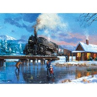 Royal & Langnickel Painting by Numbers 12 3/4 x 15 3/4 Adult Set Winter Magic