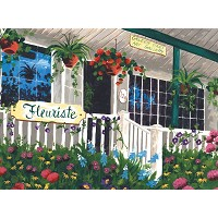 Royal & Langnickel Painting by Numbers 12 3/4 x 15 3/4 Adult Set Flower Shoppe