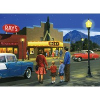 Royal & Langnickel Painting by Numbers 12 3/4 x 15 3/4 Adult Set Night At The Movies