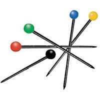 Generic Color Ball Pins 1-1/4 inch