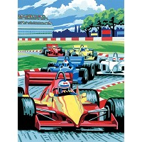 Royal & Langnickel Painting by Numbers 8 3/4 x 11 3/8 Junior Small Set Grand Prix