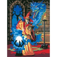 Royal & Langnickel Painting by Numbers 8 3/4 x 11 3/8 Junior Small Set Sorcerer