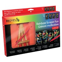 Reeves Mini Scraperfoil Rainbow Foil Gift Set