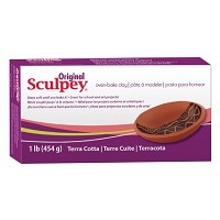 Sculpey Original Oven Bake Terra Cotta Clay 1 lb.