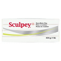 Sculpey III Oven-Bake Clay White