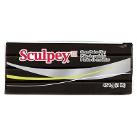 Sculpey III Oven-Bake Clay Black