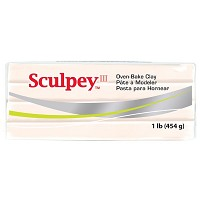 Sculpey III Beige Clay