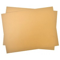 Speedball 4 inch x 6 inch Unmounted Smokey Tan Linoleum Block