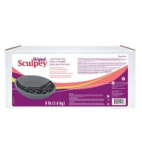 Sculpey Original Oven Bake Gray Clay 8 lb.