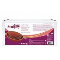 Sculpey Original Oven Bake Terra Cotta Clay 8 lb.