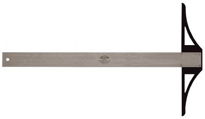 Alvin S/S Series 24 inch Stainless Steel Professional T-Square
