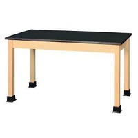 Shain 54 inch x 24 inch Plain Student Table Epoxy Resin Top