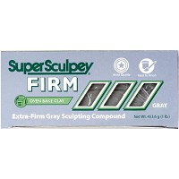 Sculpey SuperSculpey Firm Clay Gray