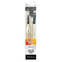 Daler-Rowney Simply Simmons All The Angles 4-Brush Set