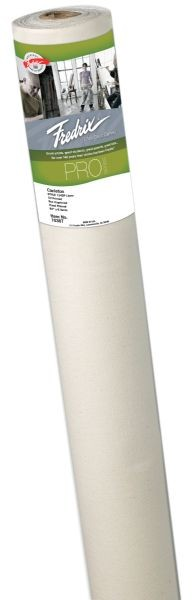 Fredrix PRO Series 84 x 6yd Linen Oil Primed Canvas Roll
