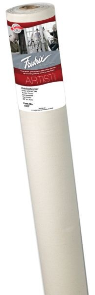 Fredrix PRO Series 60 inch x 3yd Acrylic Primed Cotton Canvas Roll 574 Knickerbocker