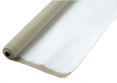 Fredrix PRO Series 63 x 100yd Linen Acrylic Primed Canvas Roll