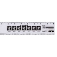 Plastic Graphic Arts Ruler